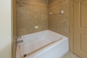 Two Bedroom Apartments in Houston, Texas - Apartment Bathroom Tub